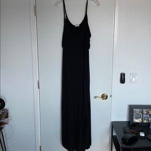 Sweet Pea XL cold shoulder maxi dress